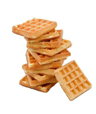 Orange tan waffle food polyvore moodboard filler