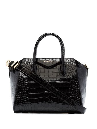 Givenchy Small Croc-Effect Leather Tote Bag | Farfetch.com
