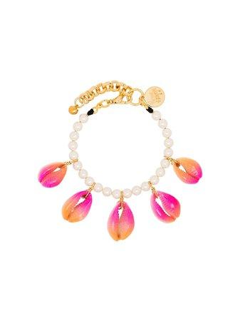 Venessa Arizaga Summer Shells Pearl Bracelet Ss20