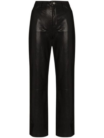 Shop Envelope1976 City straight-leg trousers with Express Delivery - FARFETCH