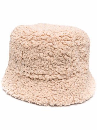 Shop Ruslan Baginskiy faux-fur bucket hat with Express Delivery - FARFETCH