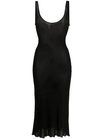 Jean Paul Gaultier, 2000s Sheer Midi Dress