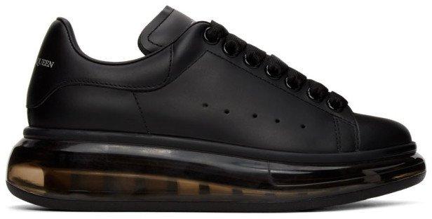 Black Clear Sole Oversized Sneakers