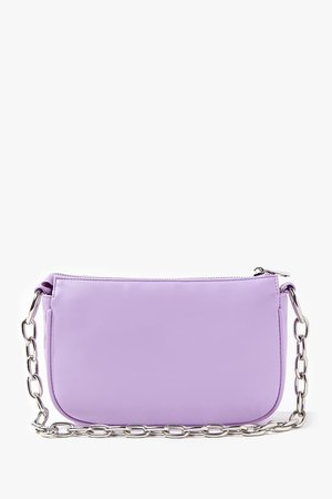 Faux Leather Shoulder Bag | Forever 21