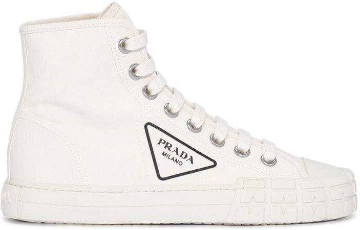 Logo High-Top Sneakers