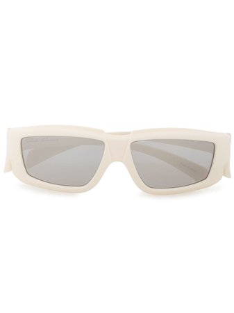 Rick Owens Square Frame Sunglasses - Farfetch
