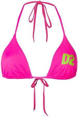 logo string bikini top