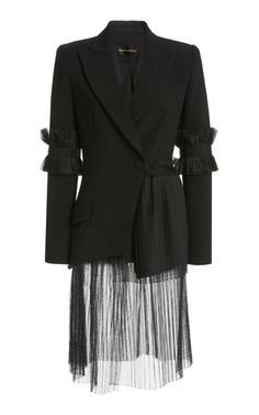 black blazer jacket top