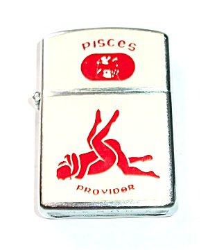 """Vintage Pisces """"Provider"""" Lighter"""