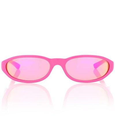 Neo round sunglasses