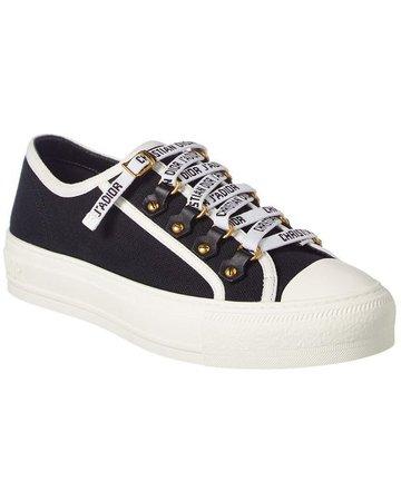 Dior Walk'n' Canvas Sneaker - Black