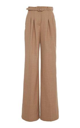 Vargas Contrast Wool-Blend Trouser by Gabriela Hearst | Moda Operandi