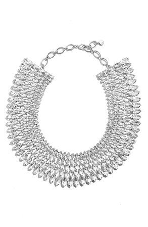 BaubleBar Anatalia Crystal Collar Necklace | Nordstrom
