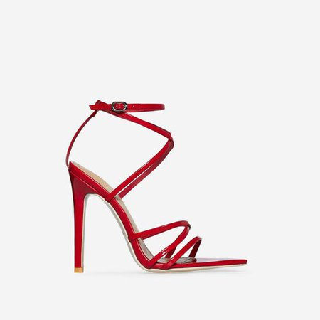 ASOS red Sandals