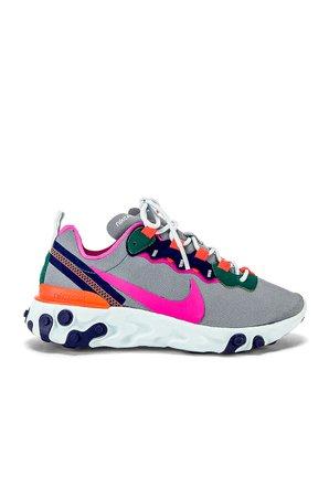 Women's React Element 55 Sneaker