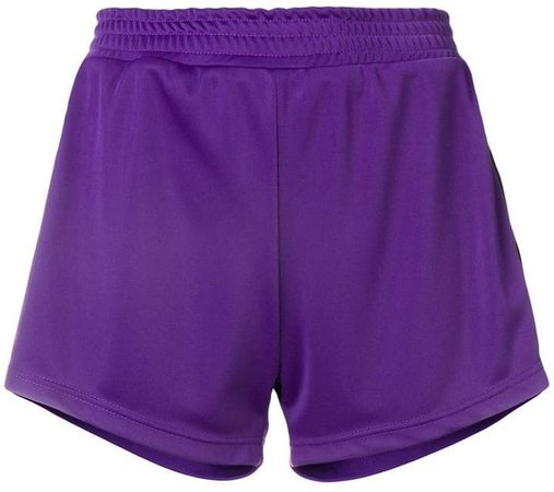 eye stripe jersey shorts