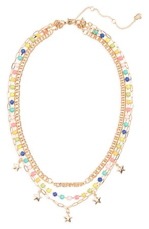 BP. Layered Mini Charm Necklace | Nordstrom