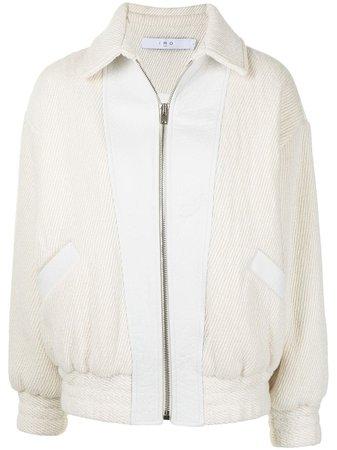 IRO panelled bomber jacket - FARFETCH