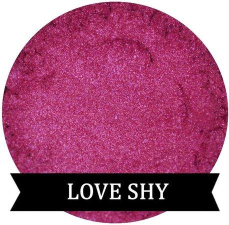 Bright Magenta Pink Eyeshadow LOVE SHY | Etsy