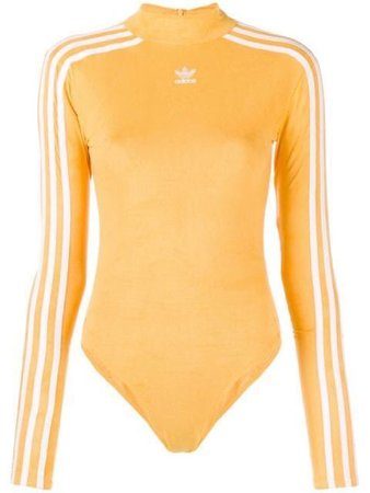 Yellow adidas bodysuit