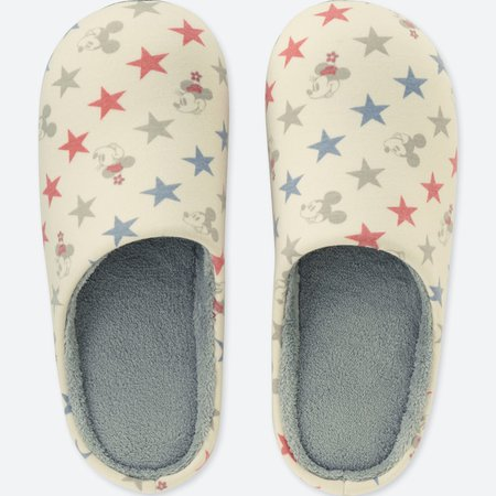 DISNEY HOLIDAY COLLECTION SLIPPERS | UNIQLO US