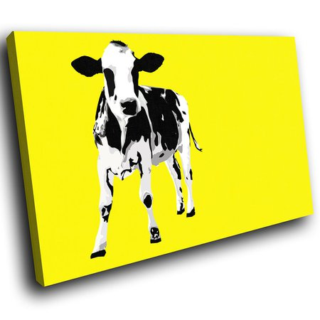 yellow and black cow print - Google Search