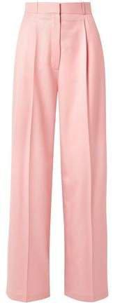 Elin Wool-twill Wide-leg Pants