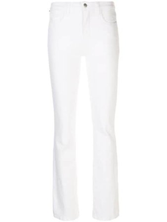 L'Agence Mid Rise Skinny Jeans - Farfetch