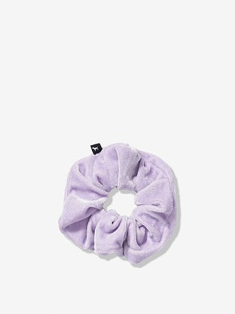 Velvet Scrunchie - PINK - pink