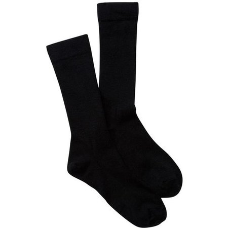 PENDLETON Solid Trouser Wool Blend Crew Socks