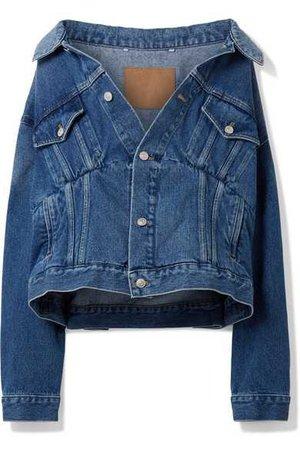 Balenciaga | Oversized denim jacket | NET-A-PORTER.COM