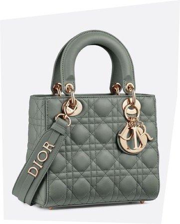 lady dior green bag