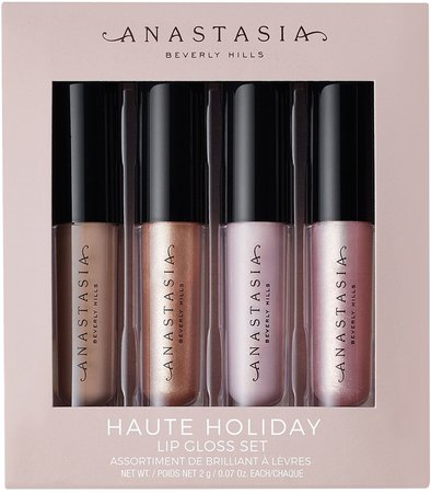 Haute Holiday Mini Lip Gloss Set