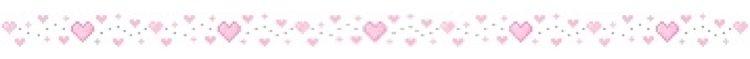 pink heart border