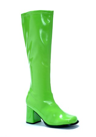 Green Gogo Boots Women's | Ellie Shoes