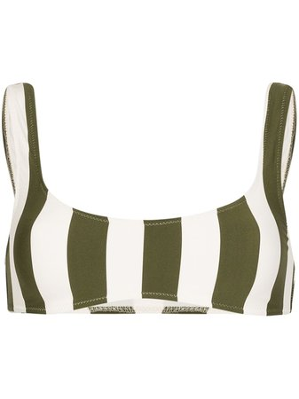 Solid & Striped Elle Striped Bikini Top - Farfetch