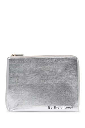 Urban Expressions   Metallic Pouch   Nordstrom Rack