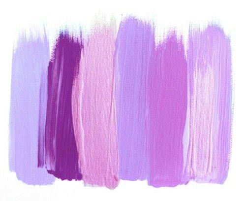 lavender paint swatch