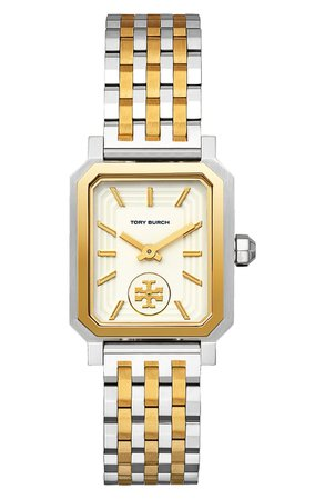 Tory Burch Robinson Mesh Bracelet Watch, 27mm x 29mm | Nordstrom