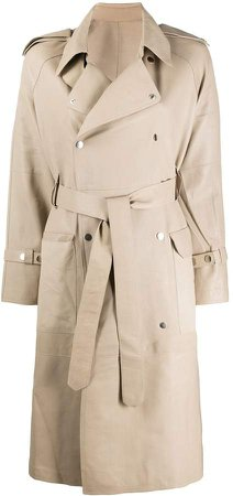 S.W.O.R.D 6.6.44 double-breasted trench coat