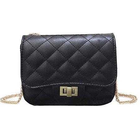 Amazon.com | Donalworld Kids Children Girls Handbag Satchel Bowknot Shoulder Bags M Black | Backpacks