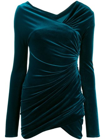Alexandre Vauthier Gathered Short Dress | Farfetch.com