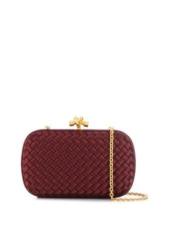 Bottega Veneta Chain Knot Clutch Aw19 | Farfetch.com