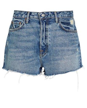 GRLFRND Cindy Cut-Off Denim Shorts   INTERMIX®