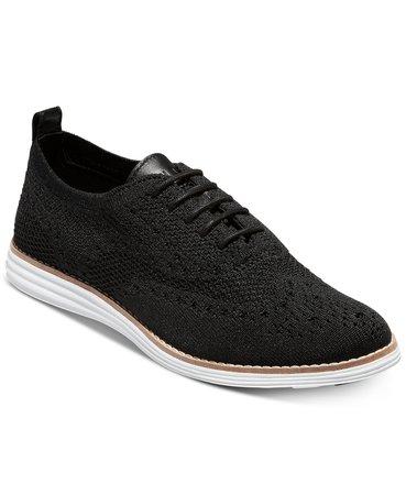 Cole Haan ØriginalGrand Stitchlite Oxfords & Reviews - Flats - Shoes - Macy's