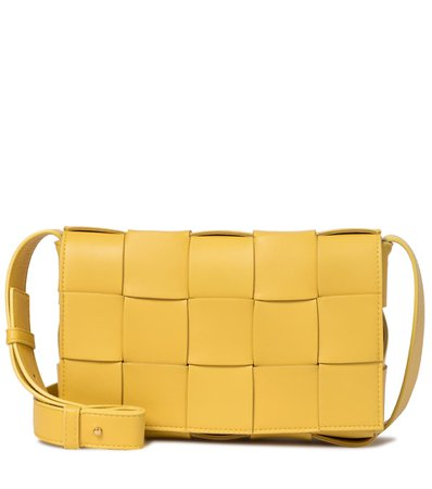 Cassette Leather Crossbody Bag | Bottega Veneta - Mytheresa