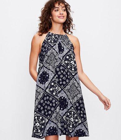 Tall Bandana Halter Dress