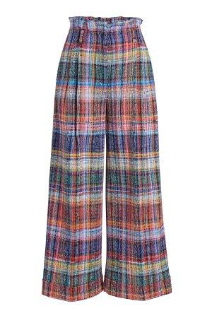 Cropped Plaid Pants Gr. IT 38