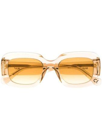 Retrosuperfuture transparent oversized sunglasses C4K - Farfetch