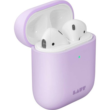 lilac AirPods
